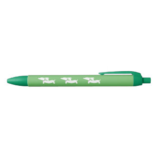 Green Dachshund Pen