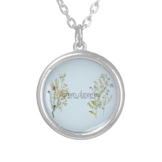 Green Dance Co Silver Plated Necklace