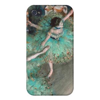 Green Dancer (Danseuse Verte) Edgar Degas Cases For iPhone 4