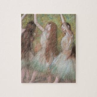 Green Dancers by Edgar Degas, Vintage Ballet Art Jigsaw Puzzle