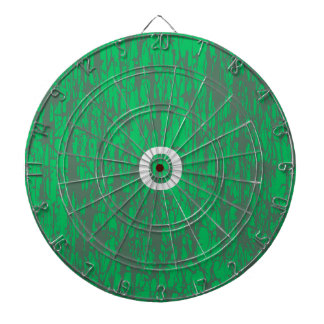 Green dart board