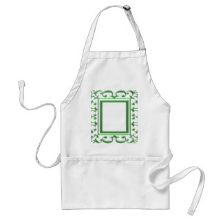 GREEN Decorative Border : Think multi uses Aprons