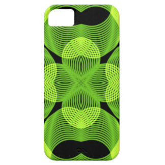 Green Decorative Swirly Spirograph Geometric Art iPhone 5 Cover
