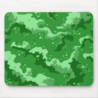 Green Desert Camo Computer Mousepad