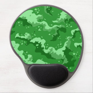 Green Desert Camo Gel Computer Mousepad Gel Mouse Pad