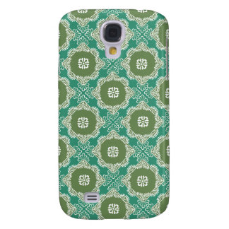 Green Diagonal Square Pattern Samsung Case Samsung Galaxy S4 Covers