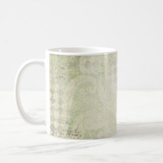 gREEN Diamond Grunge Coffee Mug