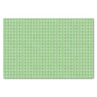 Green Diamond Happy Birthday Tissue Paper