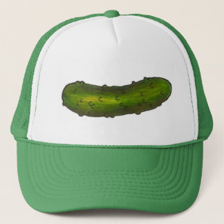 Green Dill Dills Pickle Pickles Foodie Hat