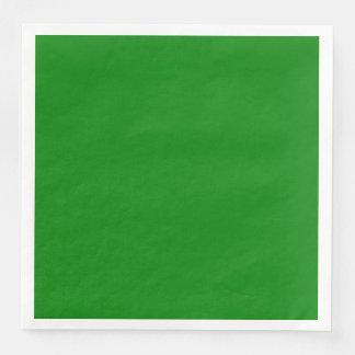 Green Dinner Paper Napkin