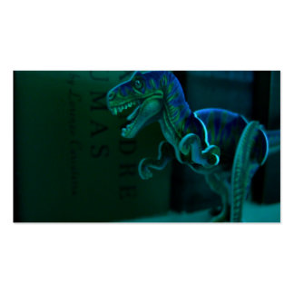Green Dino Profile Cards Pack Of Standard Business Cards
