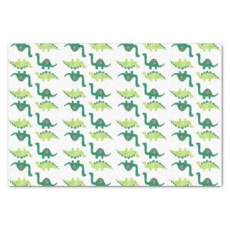 Green Dinosaur Tissue Paper