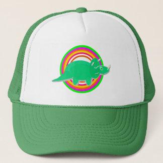 Green Dinosaur Triceratops Cap