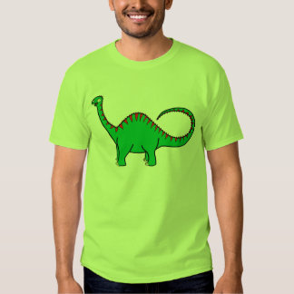 Green Diplodocus Tshirts