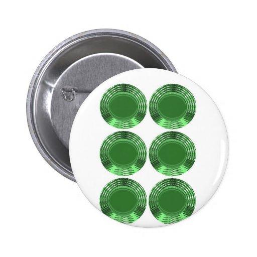 GREEN DISKS - PINS