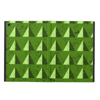 Green Distressed Geometric Pattern