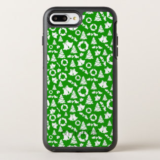Green Ditzy Christmas Characters | Phone Case