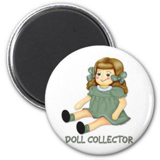 Green Doll Magnet