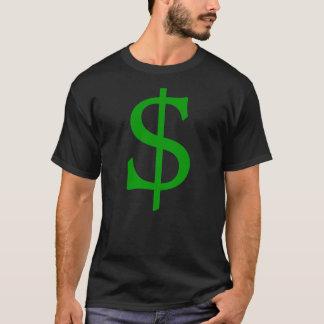 Green Dollar Sign Money Shirt
