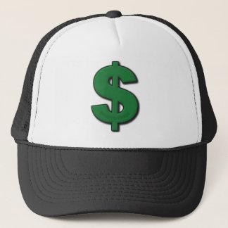 Green Dollar Sign Trucker Hat