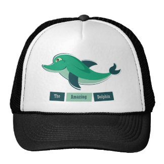 Green Dolphin Cap