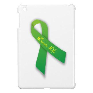 Green Donate Life Ribbon iPad Mini Cover