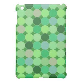 Green dots Case iPad Mini Covers