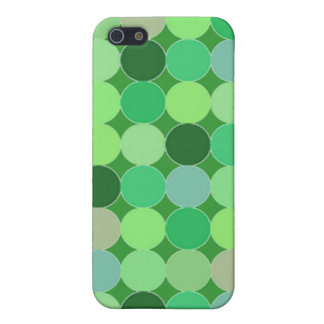 Green dots Case Case For iPhone 5