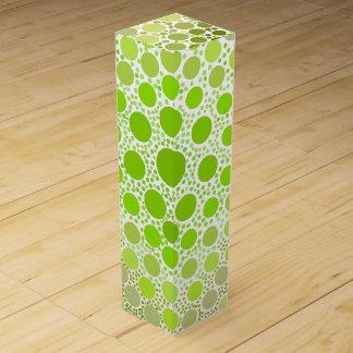 Green Dots Wine Box