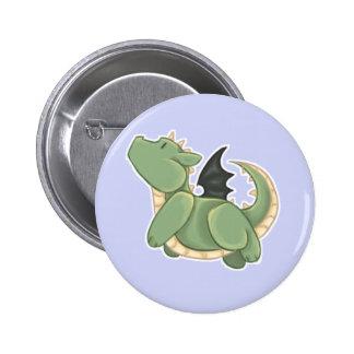 Green Dragon Pinback Button