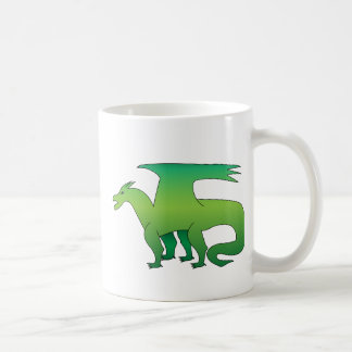 Green Dragon Basic White Mug