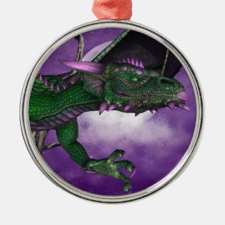 Green Dragon Christmas Ornaments