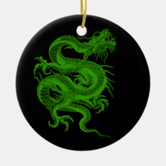 Green Dragon Draco Ornament