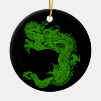 Green Dragon Herensuge Ornament