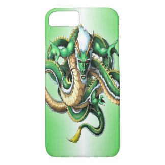 Green Dragon iPhone 7   ID Case