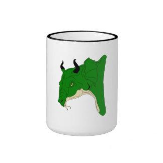 Green Dragon Coffee Mug