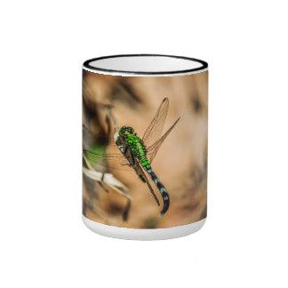 Green Dragon Ringer Mug