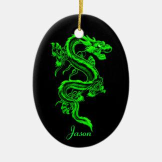 Green dragon Ornament