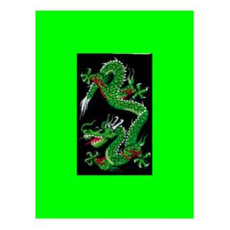 Green Dragon Postcard