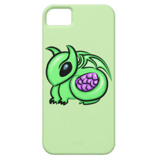 Green Dragon, Purple Dragon Egg Case For The iPhone 5