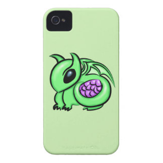 Green Dragon, Purple Dragon Egg Case-Mate iPhone 4 Cases