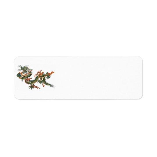 Green Dragon return address label