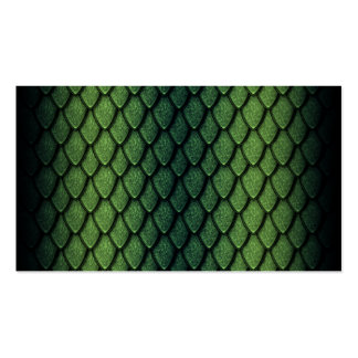Green Dragon Scales Business Card Template