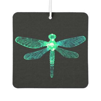 Green Dragonfly Car Air Freshener