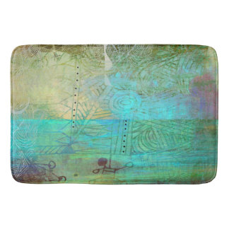 green dream bath mat
