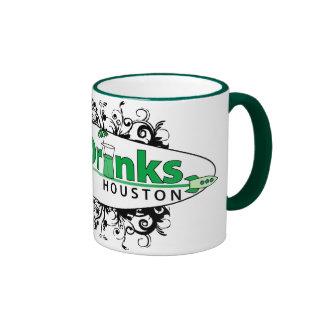 Green Drinks Houston Ringer Mug