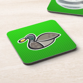 Green Duck Drink Coaster