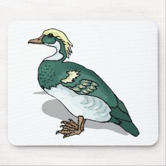 Green Duck Mousepad