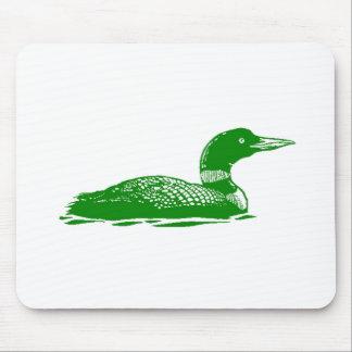 Green Duck Mousepads