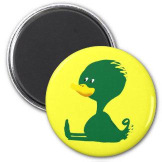 Green ducky magnet